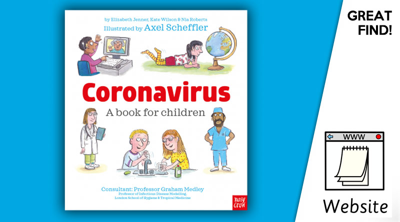 Free Coronavirus book for children